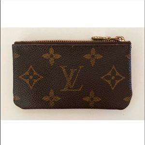 💯Authentic Louis Vuitton Monogram Coin Card Pouch